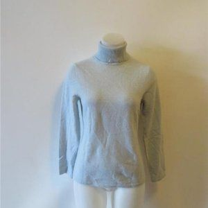 LORD & TAYLOR LT BLUE CASHMERE  SWEATER S